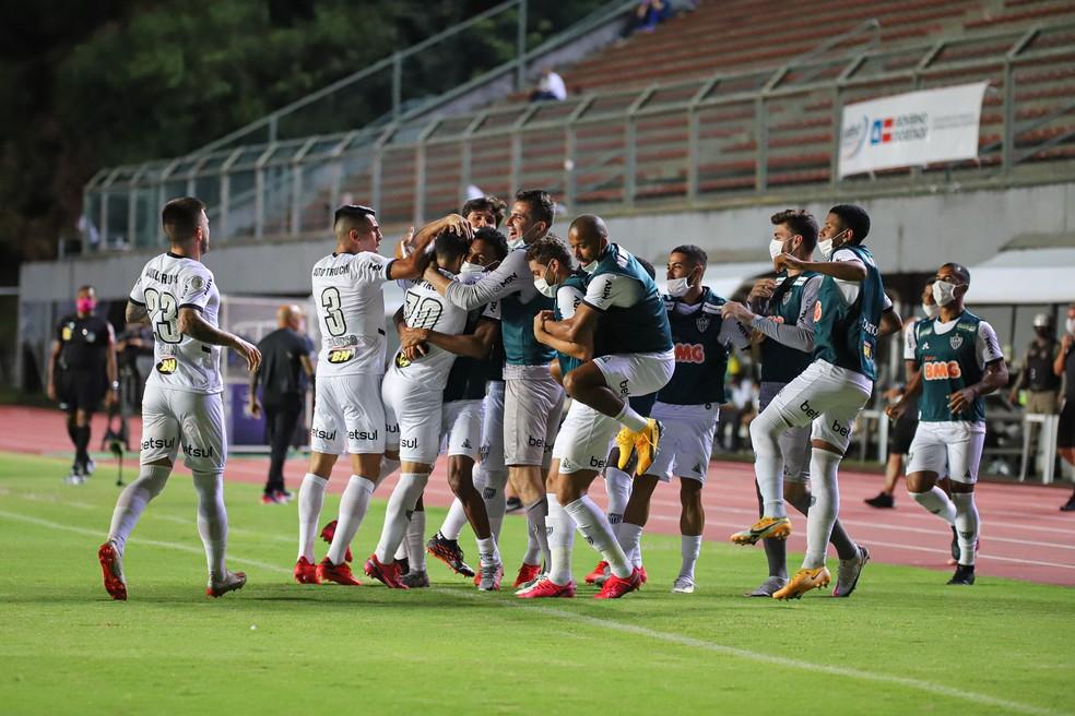Atlético Mineiro tropeça no campeonato brasileiro