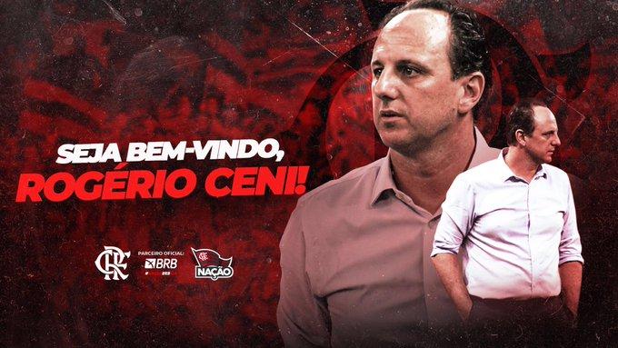 Flamengo anuncia Rogério Ceni como novo técnico