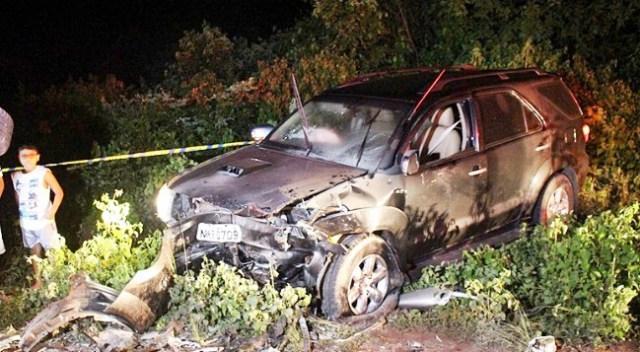 Colisão frontal de dois veículos deixa 5 feridos em Buriti dos Lopes