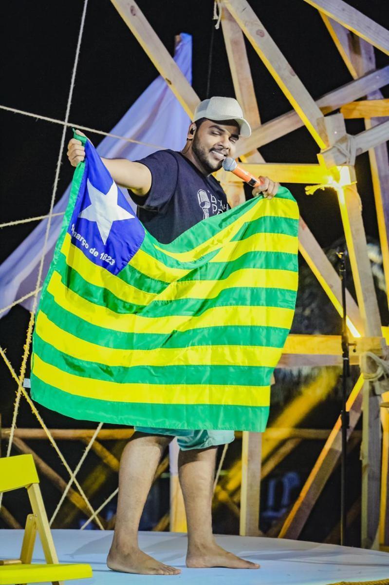 Cantor piauiense, Anderson Rodrigues grava DVD em Brasília no 'Conexão Piauí–BSB'