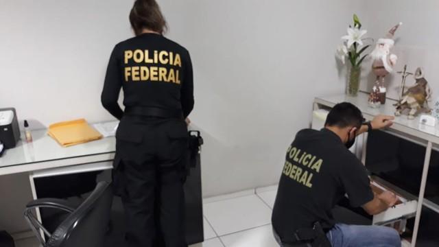 Polícia Federal cumpre mandados em operação contra crime eleitoral em Teresina
