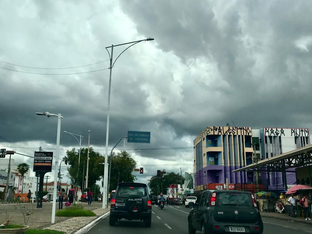 Cidades do Piauí tem previsão de chuvas para o fim de semana, diz Inmet