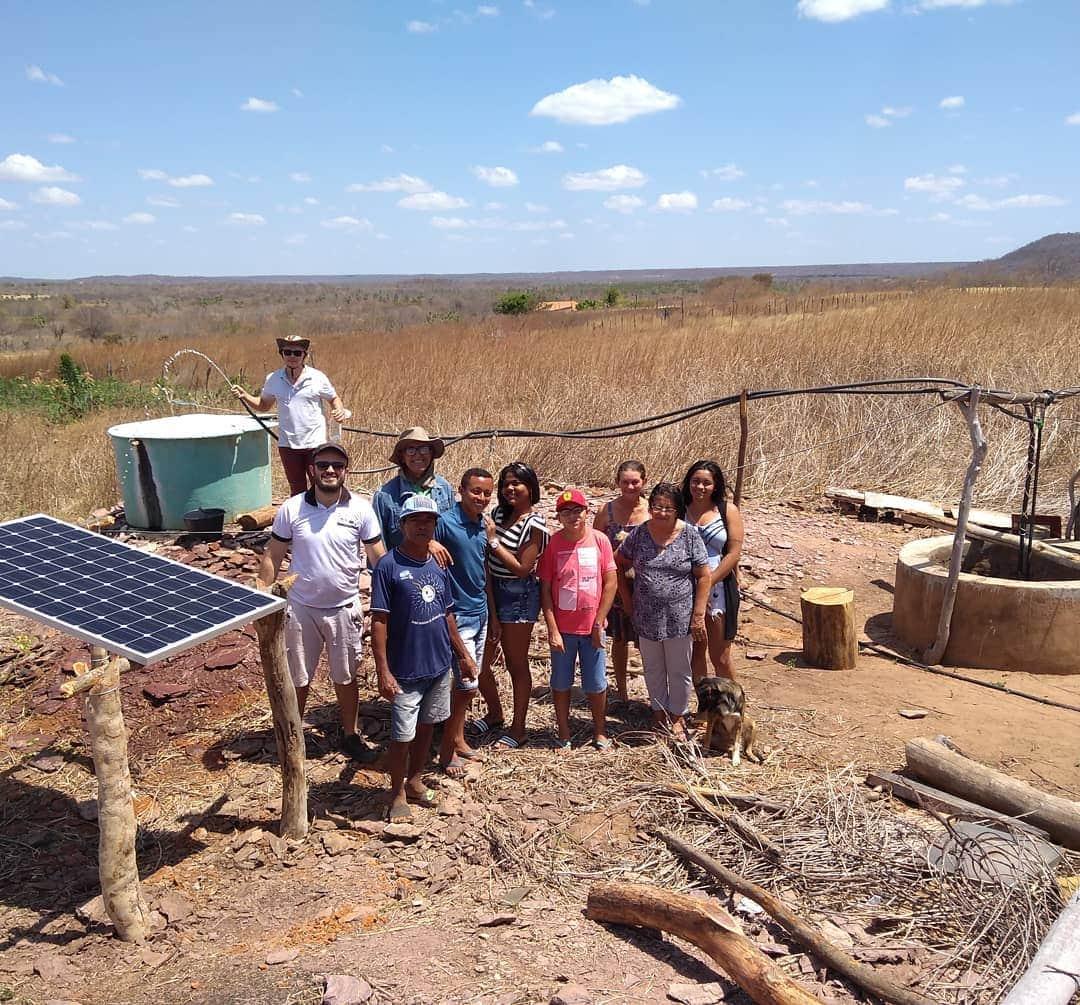 Projeto da UFPI bombeia água ao agricultor do semiárido