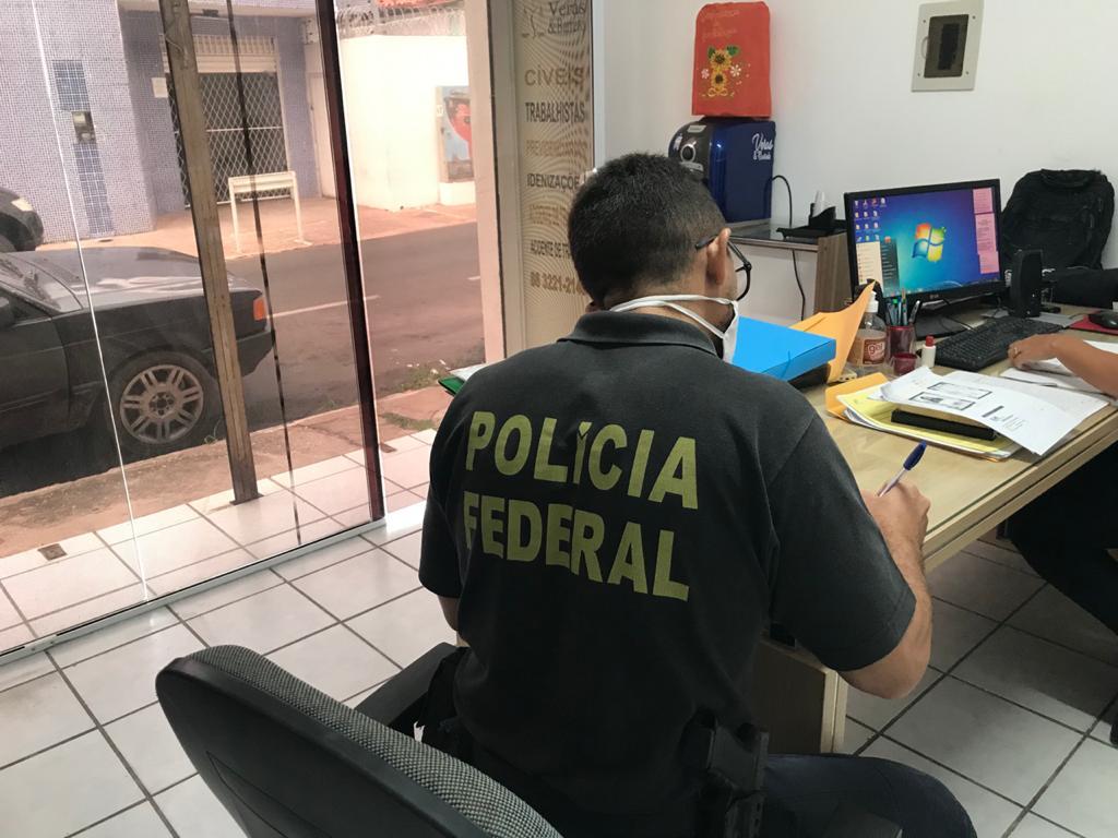 Polícia Federal deflagra operação contra crimes previdenciários em Teresina