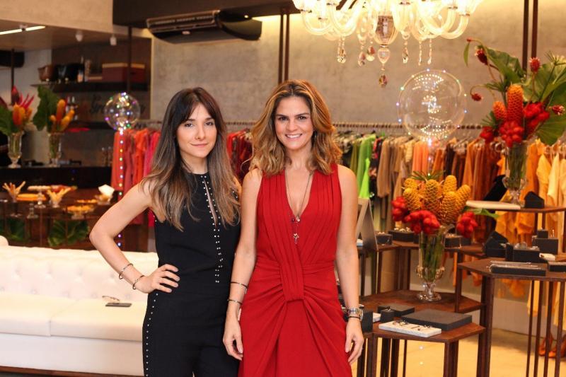 Danielle Carvalho e Carol Bassi lançam coleção de joias em Teresina