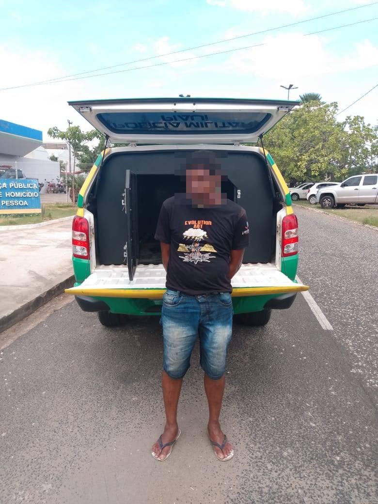 Acusado de matar irmão de tenente da PM com garrafada é preso em Teresina
