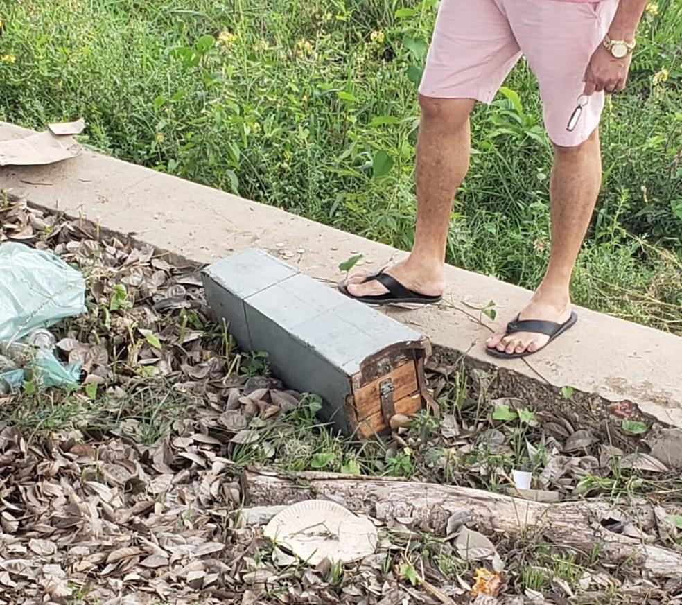 Padre persegue criminoso que tentou roubar cofre de igreja no Piauí