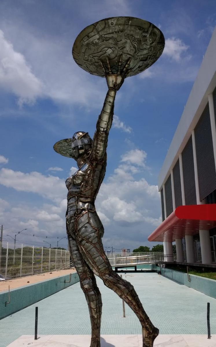 Tribunal de Justiça do Piauí inaugura nova sede com estátua de R$ 50 milhões