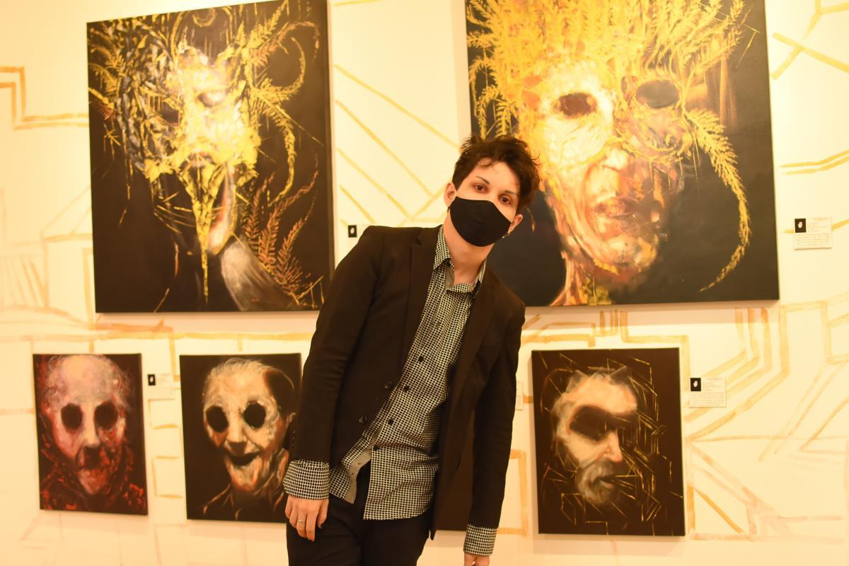 Érico Ferry expõe na Montmartre obras pintadas durante a quarentena