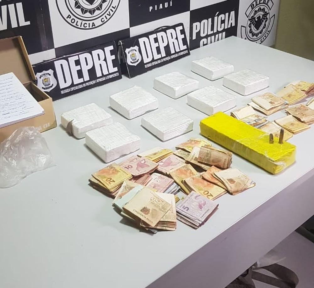 Droga é apreendida em casa que servia como 'depósito' de entorpecentes em Teresina