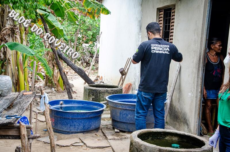 Idoso sofre crise convulsiva e morre afogado em caixa d'água no Norte do Piauí