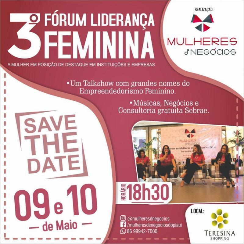 Fórum Mulheres de Negócios debate liderança feminina em Teresina