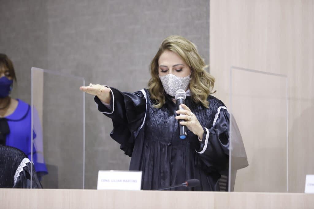 A Força da Notícia: A conselheira Lilian Martins toma posse como Presidente do TCE-PI