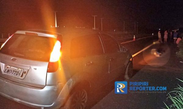 Pedestre morre após ser atropelado em Piripiri
