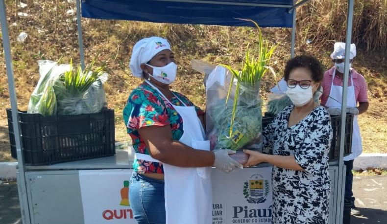 Projeto Quitanda Virtual conclui entrega de cestas em quatro Territórios do Piauí