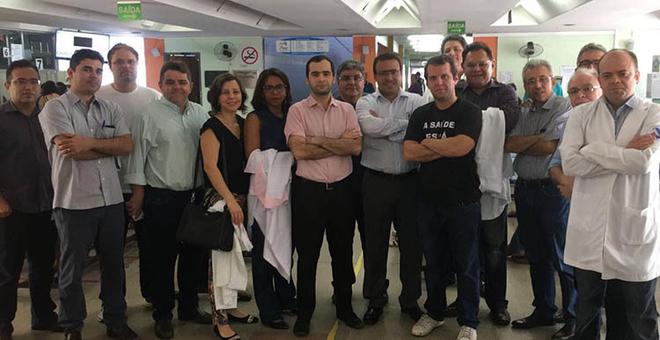 Médicos do Piauí voltam a paralisar atividades amanhã
