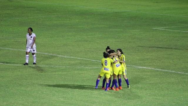 Tiradentes faz cinco e consegue a primeira vitória no Campeonato Brasileiro Feminino