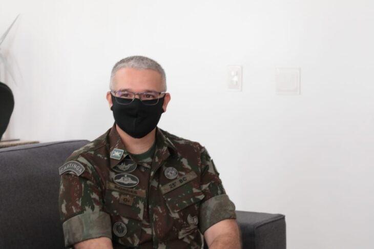 Coronel Paulo Ricardo Borges assume comando do 25º BC nesta quinta (14)
