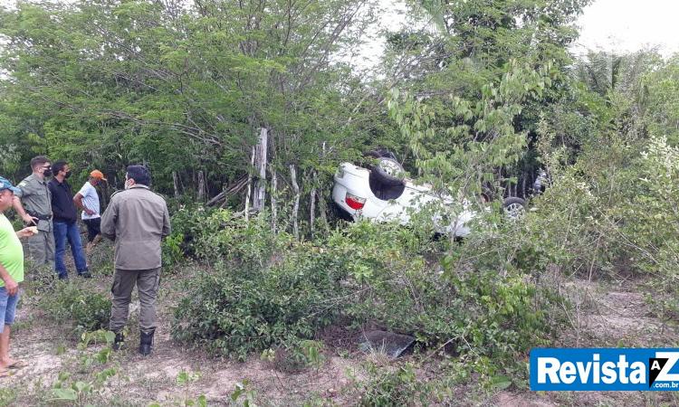 Homem morre em acidente na PI-214 na zona rural de Esperantina