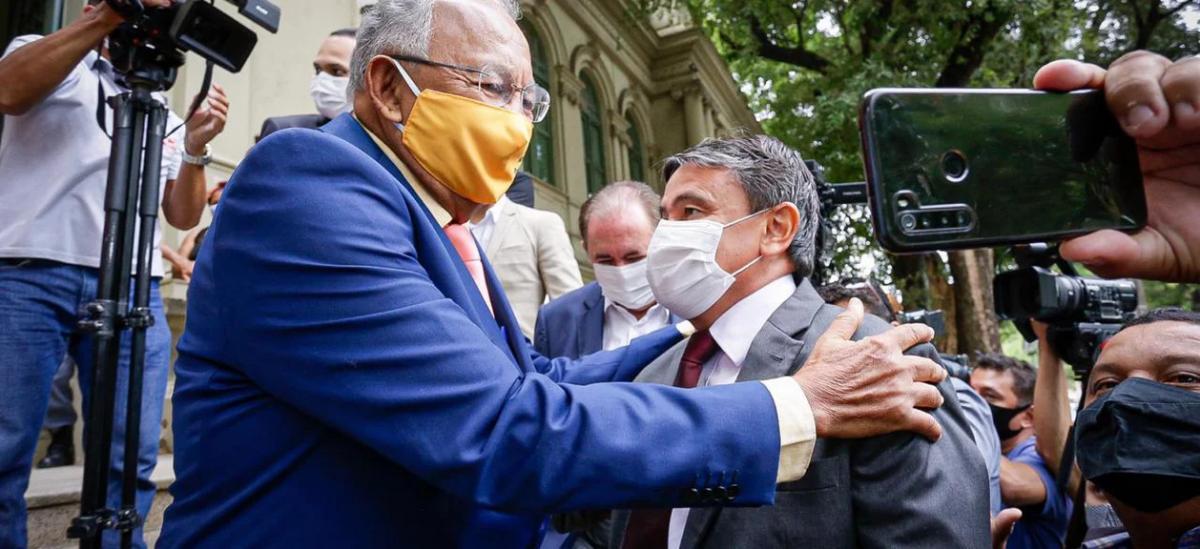 Dr. Pessoa recebe o governador Wellington Dias e trata de parcerias para Teresina