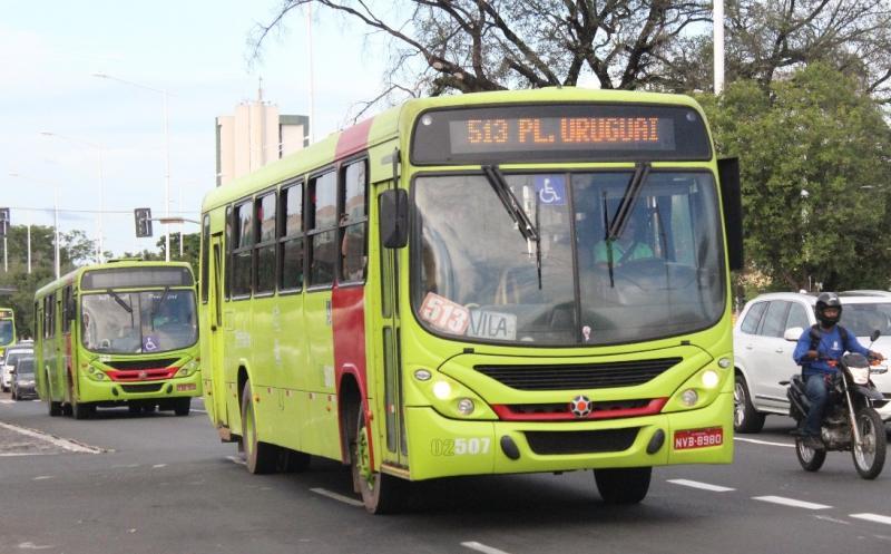 Strans estuda reforçar frota de ônibus que circula em Teresina para 80%