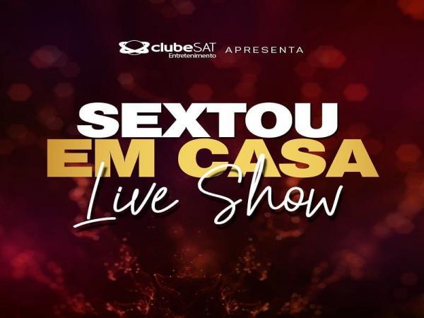 Sextou em Casa: Live Show com Flávio Moura e Walkiria Estarley